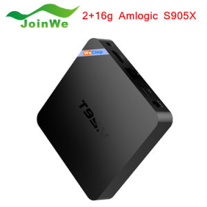 Amlogic S905 T95n Mini M8spro Android TV Box pictures & photos