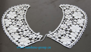 Fashion Design Embroidery Lace Cotton Patterns Neck Collar-034 pictures & photos