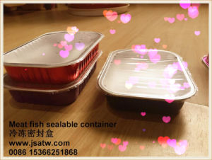 Disposable Airtight Aluminum Foil Lunch Box for Microwave pictures & photos