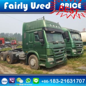 Low Price Used Sinotruck HOWO 375HP Tractor Head Truck