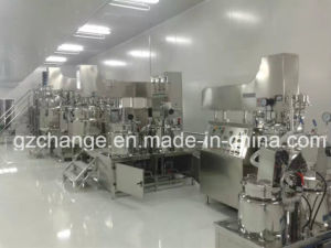 Cosmetic Shampoo Lotion Detergent Mixing Homogenizer Tank pictures & photos