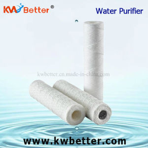 Cotton String Wound Water Purifier Cartridge with Spun Water Filter Cartridge pictures & photos