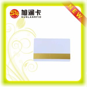 Blank Thin PVC Card for Chip and Magnetic Stripe pictures & photos