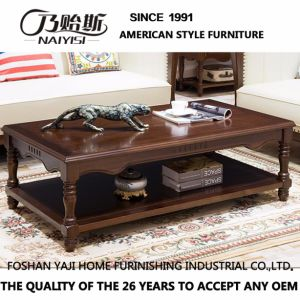 Work Well Wooden Table for Living Room as-840A pictures & photos