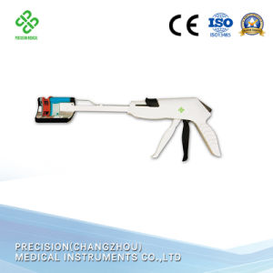 Medical Equipment Disposable Curved Surgical Stapler
