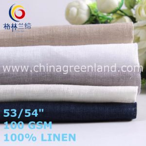 Cotton Linen Textile for Men′s Shirt Plain Fabric (GLLML471) pictures & photos