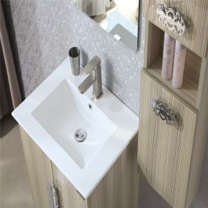 Multi-Layer Solid Wood Bathroom Vanity with Side Cabinet pictures & photos