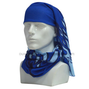 Microfiber Casual Headwear Custom Printed Paisley Seamless Bandana pictures & photos