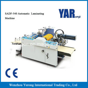 Low Price Automatic Glueless Film Laminating Machine for Single Side Paper pictures & photos