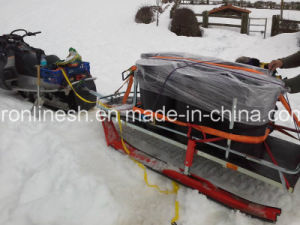 Platform Ski Sled/Snow Sledge/Timber Ski Sled/Snow Sled Trailer/Universal Sleigh/Utility Sleigh/Transport Sled/ for Atvs/Snowmobiles/Quad/UTV/Side by Side pictures & photos