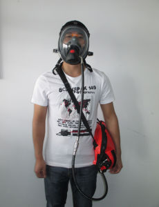 Factory Price Air Respirator Personal Security Breathing Supply Protection Device pictures & photos