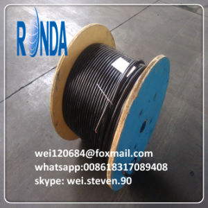 PVC Insulated Steel Wire Braid PVC Sheathed Flexible Signal Cable pictures & photos
