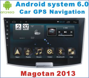 Android System 6.0 Car Stereo for Magotan 2013 with Car Navigation