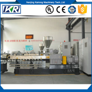 Activated Carbon Black Twin Extruder Making Machine/Lab Scale Thermoplastic Elastomer Applications Extruder pictures & photos