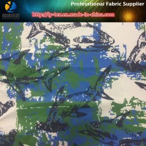 """""""Shark"""" Printed on Polyester Stretch Fabric for Beach Shorts (YH2141.2142) pictures & photos"""