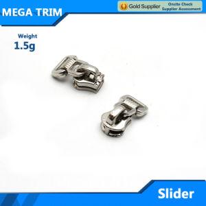 Unique Design Metal Zipper Slider for Bag pictures & photos