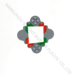 Custom Made Rubber Molded Keypad Sheet pictures & photos