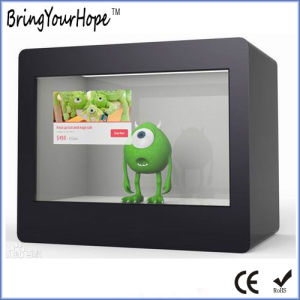 10 Inch Transparent LCD Display Showcase (XH-DPF-102C) pictures & photos