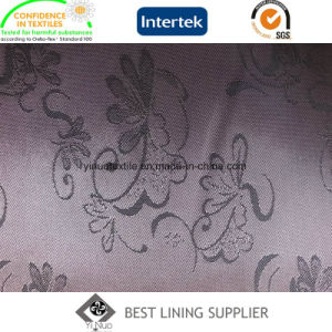 PV Two Tone Jacquard Woven Suit Lining Fabric pictures & photos