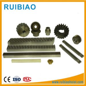 Precisoin Custom Machining Steel Small Gear Rack and Pinion pictures & photos