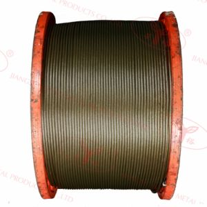 Non-Rotating, Multi-Laid Steel Cable- 35wx7 pictures & photos