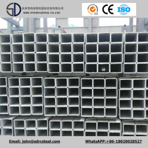 Q195 Q235 Ss400 Pre-Galvanized Steel Tube/Hot-Dipped Galvanized Steel Pipe pictures & photos