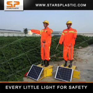 Solar Traffic Fake Police Guide Robot for Road Safety pictures & photos