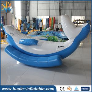 Beach Water Park Totter/Inflatable Floating Water Seesaw for Sale/ Water Game pictures & photos