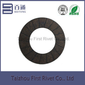 Model Fst205A Medium-Alkali (alkali-free) Glass Fiber Clutch Facing pictures & photos