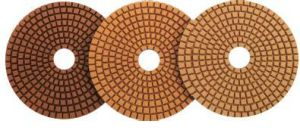 Edge Diamond Polishing Backer Pad Abrasive Tools for Stone Marble Granite pictures & photos
