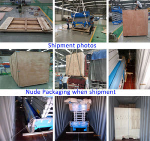 10m Working Height mobile Lifting Platform for Maintenance pictures & photos