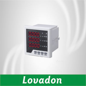 Lovadon Lt194e-9K4 Three Phase Digital Multimeter Electric Energy Meter pictures & photos