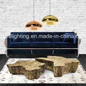 Modern Design Mushroom Shape Glass & Iron Pendant Lamp for Interior Decoration Lighting pictures & photos
