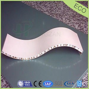 Arc Shape Aluminum Honeycomb Panel, Curved Honeycomb Panel pictures & photos