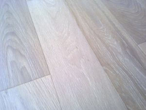 Natural Grade White Oak Solid Hardwood Flooring (hardwood flooring) pictures & photos