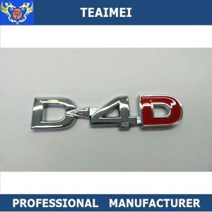 High Quality ABS Car Logo Chrome Nameplate Letter Emblems pictures & photos