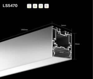 Pn 5470. Recessed/Suspended Mount LED Aluminum Profile pictures & photos