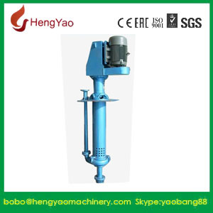 Metal Lined Centrifugal Vertical Slurry Sump Pump pictures & photos