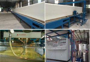 Foam Mattress Sponge Polyurethane Automatically Continuous Making Machine