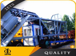 Yhzs50 Mobile and Portable Concrete Batching Plant Saled in India pictures & photos