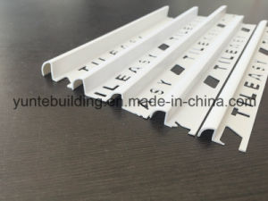 Tile Edge Profile PVC Material pictures & photos