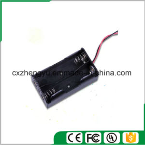 2AA Battery Holder with Red/Black Wire Leads