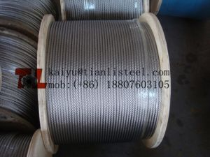 AISI316 7*19 Stainless Steel Rope pictures & photos