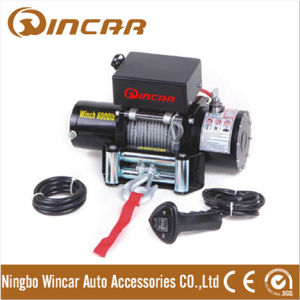 12V Electric Capstan Winches 6000lbs Car Winch Mini 12V Electric