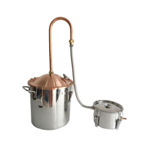 Kingsunshine 10L/3gal Copper Lid Still Home Moonshine Still Distillery pictures & photos