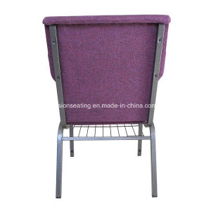 Metal Steel Stackable Padded Ergonomic Chapel Worship Church Chair (4001) pictures & photos