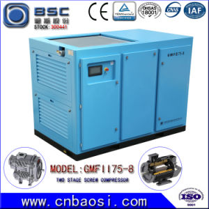 Two Stage Energy Saving Screw Air Compressor 45~75kw pictures & photos