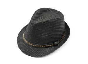 Fashion Metal Studs Fedora Hat pictures & photos
