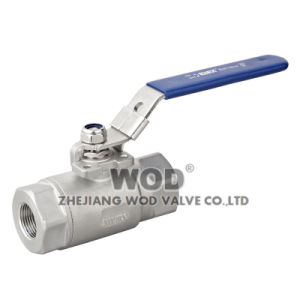 High Pressure 2PC Ball Valve with Locking pictures & photos