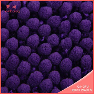 Anti-Slip Microfiber Short Chenille Bath Mat pictures & photos